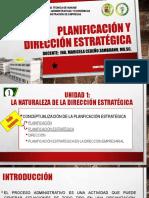 Clase 1 Unidad 1 materia planificacion y direccion estrategica