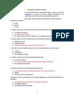 Cuestionario de Derecho Notarial I-1