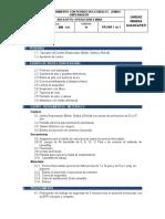 PETS - URQ - MIN - 011 Sostenimiento con Pernos Helicoidales - Jumbo Empernador