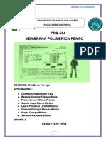 INVESTIGACION MEMBRANA POLIMERICA GRUPO 2
