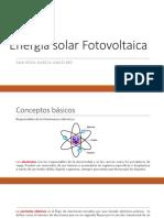 Conceptos energía solar FV