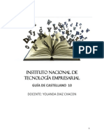 GUIA TALLER CASTLLANO GRADO 10