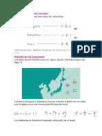 Leyendo textos en japones