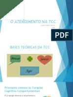 AULA O ATENDIMENTO NA TCC
