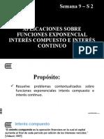 Modelado de funciones exponenciales. Interés compuesto e interés continuo.pptx
