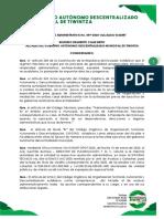 RESOLUCION 049-2020_BAJA TITULO DE CREDITO