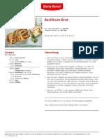 Basilikum Brot