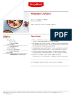 Kirschen Clafoutis