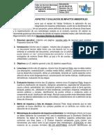 RUBRICA IDENTIFICACIÓN DE ASPECTOS Y EVALUACIÓN DE IMPACTOS AMBIENTALES