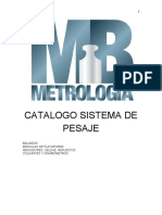 CATALOGO EQUIPOS DE PESAJE LEXUS
