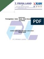 PRAKAF JLN SUKABUMI JABAR PT.PRIMALAND