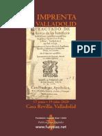 """""""La imprenta en Valladolid"""""""
