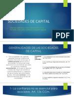 Sociedades de Capital en El Salvador- Generalidades PDF
