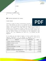 REQUERIMIENTO APORTE PARA COVID- 19 OCELOTE