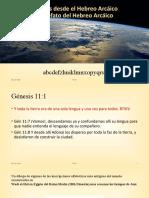 02-Génesis El Alefato del Hebreo Arcáico
