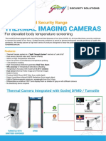 Thermal Camera Leaflet