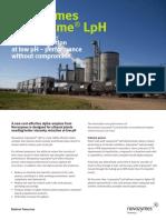 Liquozyme LpH Benefit Sheet