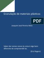 Granulação de materiais plásticos