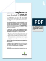 Caderno Complementar Lei 13.281