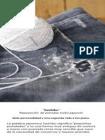 Hashiko japanesse jeans repair