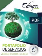 PORTAFOLIO PRODUCTOS DE LIMPIEZA EDINGER SUPPLY COMPANY S.A.S