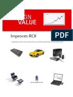 Design Value Improves ROI