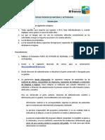 TRA - PROTOCOLO PEDIDOS DE MATERIAL