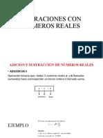 5 TA CLASE TAREA OPERACIONES CON NÚMEROS REALES ADICION Y SUSTRACCION (2)