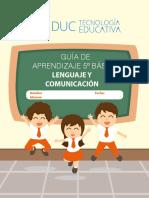 5° Básico Lenguaje y comunicación Guía 1