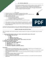 MofS D1 - Critical Analysis