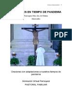ORACIONES EN TIEMPO DE PANDEMIA -IV-