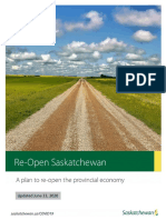 Reopen Sask Plan, June 23