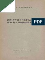 343016506 1924 Criptografia Istoria Romaneasca E C Grigoras