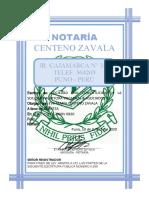 CONSTITUCION DE SOCIEDAD de auditores