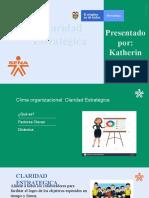Exposiciòn Claridad Estratégica Clima Organizacional
