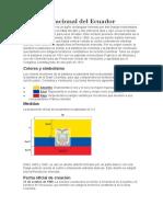Bandera Nacional del Ecuador