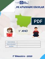 1 ANO - Atividade_Escolar_Semanal