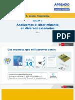 Matematica5 Semana 12 - Dia 3 Solucion Matematica Ccesa007