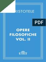 Aristotele_ M. Zanta (ed.)-Opere filosofiche. 2-UTET (2013)