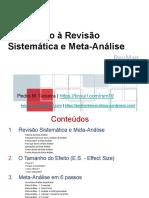 Introdução à Revisão Sistemática e Meta-Análise