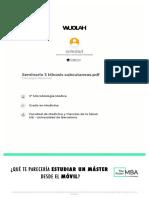 Seminario 3 Micosis subcutaneas