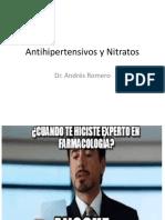 09 Antihipertensivos y Nitratos