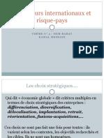 Indicateurs Internationaux Et Risques Pays HEM 2