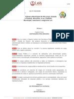 PDF LEI MUNICIPAL 465-08 - ESTATUTO SERVIDOR PUBLICO MUNICIPAL