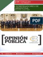 Cb Consultora_ranking de Gobernadores_junio 2020
