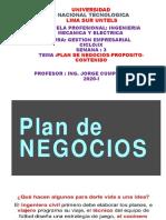 SEMANANº3GESTIONEMPRESARIAL-PLANDENEGOCIOS