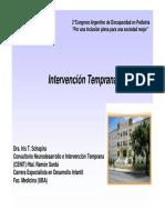 Intervención Temprana I. Shapira