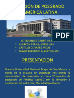 POSTGRADO EN AMERICA LATINA-10A