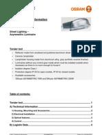 Osram Asymmetric Technical Datasheet