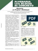 PR-2 - Alvenaria - Como projetar a modulação